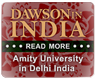 Mr. Dawson Speaks at Amity University